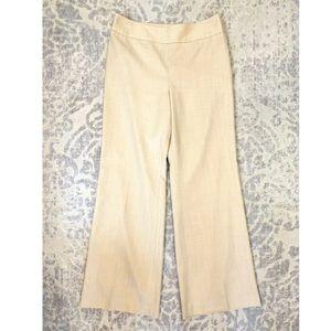 ANN TAYLOR Loft Laura Wool Side Zip Dress Pants
